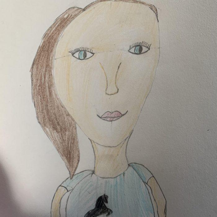 Bella's portrait
