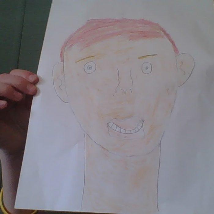 Hurley portrait of Hudson